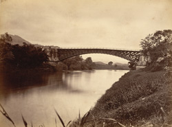 The Satin wood Bridge, Parichinga [Peradeniya], Ceylon